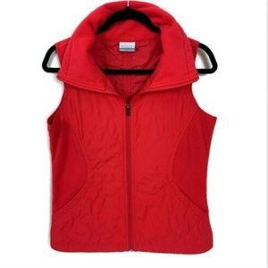 Columbia Quilted Full Zip Vest Lightweight
